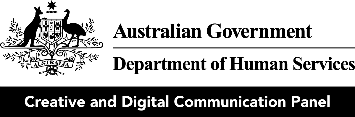 Australian Government / Department of Human Services - Creative and Digital Communication Panel logo