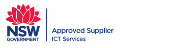 NSW Government / ICT Services Aproved Supplier logo